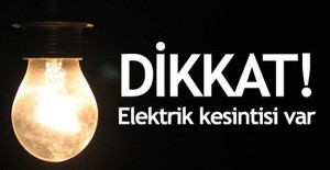 Bursa elektrik kesintisi 19-20 Mart 2021!