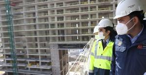 'İstanbul Finans Merkezi'nin inşaat ilerlemesi yüzde 66 seviyesine geldi'!