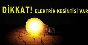 Bursa elektrik kesintisi 26-27-28 Nisan...