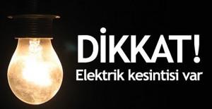 Bursa elektrik kesintisi 20-21 Mayıs 2021!