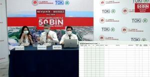 Nevşehir Bekdik TOKİ'de 1410 adet dairenin konut belirleme kurası çekildi!