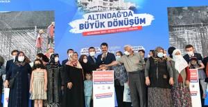 Altındağ Aktaş kentsel dönüşüm projesinin temelleri atıldı!