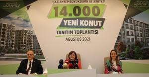 Gaziantep'e 14 bin yeni konut müjdesi!