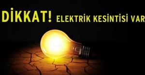 Bursa elektrik kesintisi 19-20 Ekim 2021!