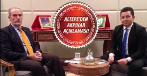 Altepe'den Akpınar Mahallesi için kentsel dönüşüm açıklaması