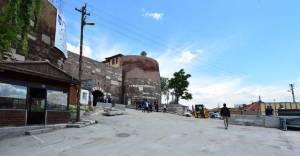 Ankara Kalesi'nde meydan çalışmaları devam ediyor!