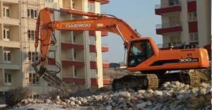 """Ankara Maltepe'de yıkımlara """"asbest"""" şartı getirildi!"""