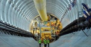 Avrasya Tüneli'nde son 75 metreye gelindi