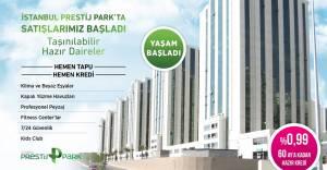 Bakyapı İstanbul Prestij Park'ta yaşam başladı