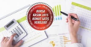 Bursa'da Kasım ayında 4.203 konut satıldı!