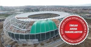 Bursa timsah arena'da son durum! Timsah Arena ne zaman açılacak ?