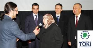 TOKİ Elazığ'da emekli konutları kurası çekildi