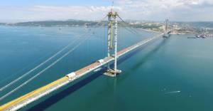İzmit Körfez Geçiş köprüsü Osmangazi bayrama hazırlanıyor!
