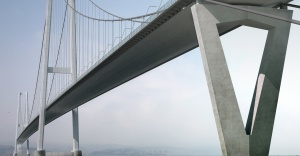 Körfez Köprüsü'nde kedi yolu montajı