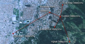 Kültürpark-Teleferik projesi ile Bursa'da yeni bir ulaşım başlıyor!