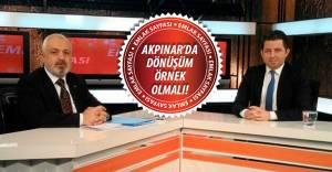 Mescioğlu'ndan Akpınar için kentsel dönüşüm açıklaması