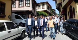 Osmangazi Hisar İçi'ndeki tarihi doku canlanıyor!