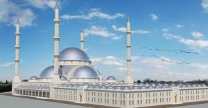 Uludağ Üniversitesi'nde 'Yeni Camii' çalışmaları devam ediyor!