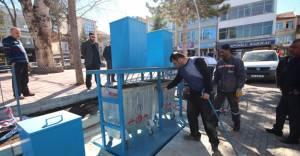 Yeraltı çöp konteyner uygulaması Konya'da başladı!
