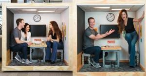 Zuckerberg'in Selena Gomez'i şaşırtan ofisi!