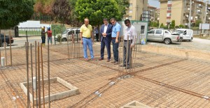 İnegöl Belediyespor misafirhanesinin inşaatı devam ediyor!