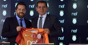 Nef Galatasaray'ın ana sponsoru oldu!
