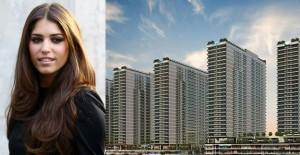 Mina Towers projesinin reklam yüzü Yolanthe Cabau!