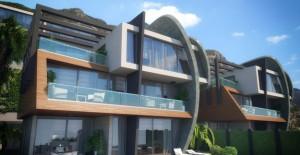 Tepe Modern Villaları fiyat!