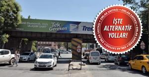 Ankara Hacettepe Köprüsü 5 gün trafiğe kapanıyor!