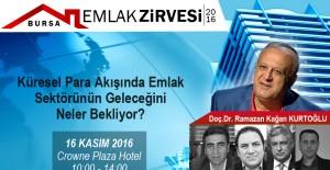 """""""Emlak Zirvesi"""" 16 Kasım'da Bursa'da!"""
