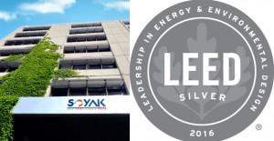 Soyak, LEED Seritikası'nda Silver seviyesine çıktı!
