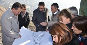Başkan Tiryaki Cinderesi'nde dönüşüm için çalışmaları başlattı!