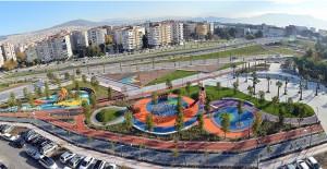 İzmirlilerin yeni yıl hediyesi 9.7 milyon liralık dev park!