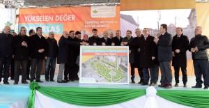 Osmangazi Demirtaş Meydanı ve Kültür Merkezi'nin temeli atıldı!