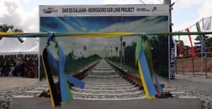 Doğu Afrika'nın en hızlı treninin temeli atıldı!