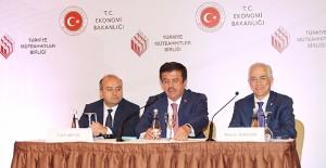 """Bakan Zeybekci: """"Müteahhitlik sektörü en önemli çıpalarımızdan biri""""!"""