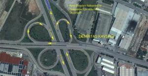 Bursa Tofaş Kavşağı 13 Temmuz'da trafiğe kapatılacak!