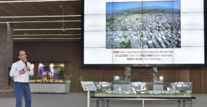 Edebali 'Mevlana Ulus Kentsel Dönüşüm Projesi çalışmalarını anlattı'!
