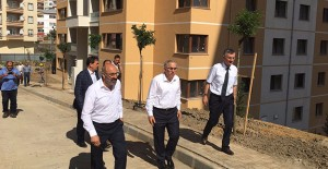 Ergün Turan, Trabzon ve Rize'deki projeleri yerinde inceledi!