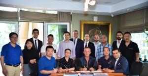 Ağaoğlu Bodrum'daki yeni projesi için Hong Konglu ve Çinli yatırımcılarla görüştü!