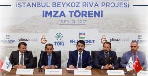 Galatasaray Riva arazisi için Yılmaz İnşaat ile Emlak Konut arasında imzalar atıldı!