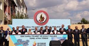 Konya Seydişehir Eski Garaj Ticaret ve Konut projesinin temeli atıldı!