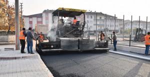 İnegöl Belediyesi asfalt çalışmalarını sürdürüyor!