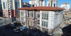 Konya Fahrünnisa Hatun Sosyal Tesisi inşaatında sona gelindi!