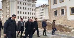 Başkan Ergün Turan, TOKİ Amasya projelerini inceledi!