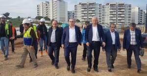 Ergün Turan, İzmir TOKİ projelerini inceledi!