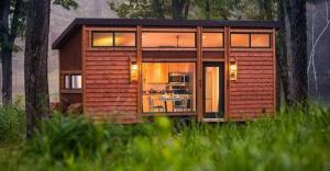 25 metrekarelik, harika ve üstelik taşınabilir bir ev!