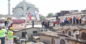 554 yıllık tarihi Kapalıçarşı'da restorasyon başladı!