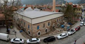 Akşehir'deki İplikçi Camii'nde restorasyon sona eriyor!