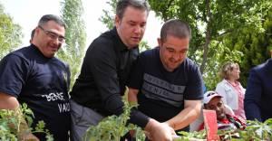 """Buca'da  """"Engelsiz Hobi Bahçeleri""""nin 2. etabı açıldı!"""
